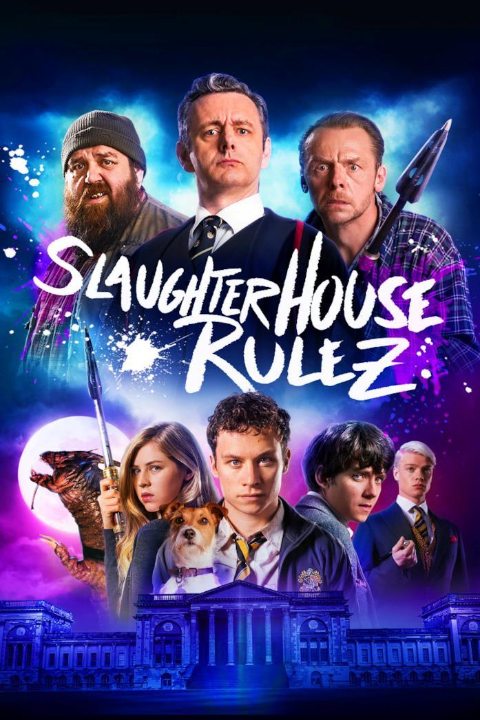 Il poster del film Slaughterhouse spacca
