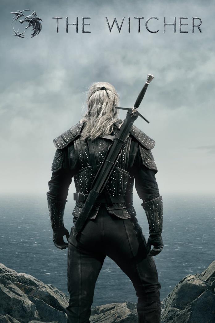 Henry Cavill nella locandina di The Witcher