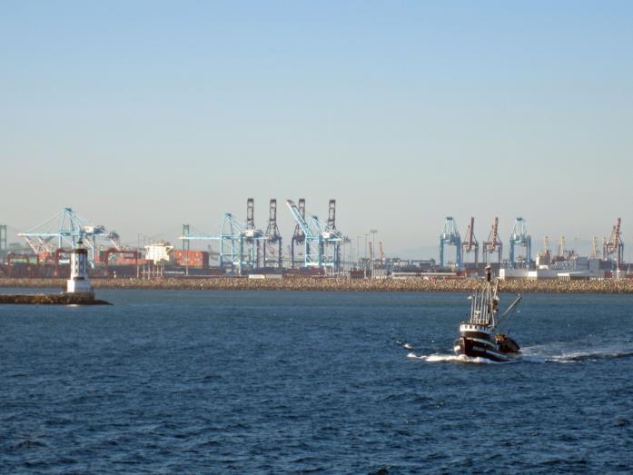 L'area portuale di San Pedro, visto in Fast and Furious