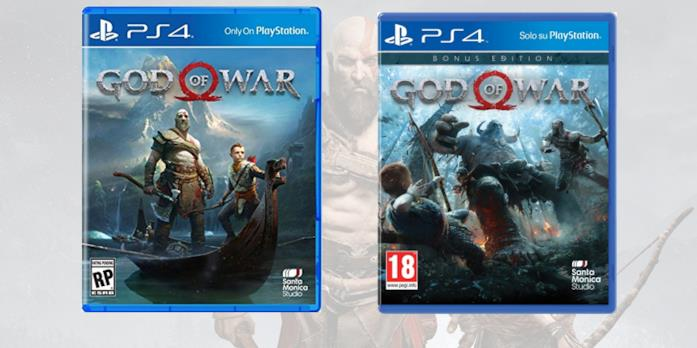 Le boxart di God of War