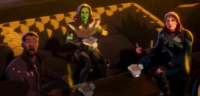 T'Challa, Gamora e Peggy Carter