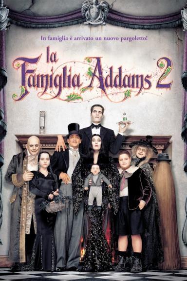 Poster La famiglia Addams 2