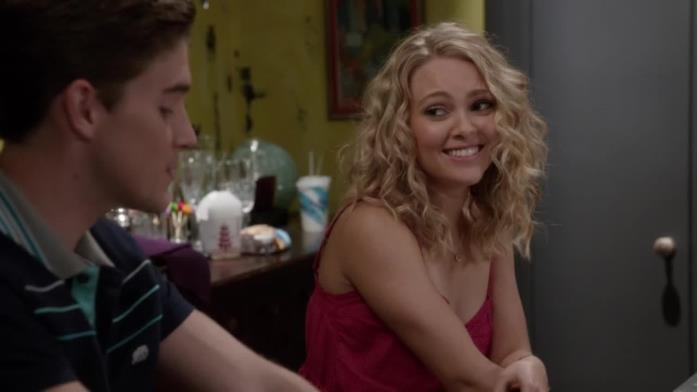 Una scena di The Carrie Diaries