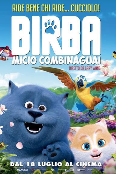 Poster Birba - Micio combinaguai