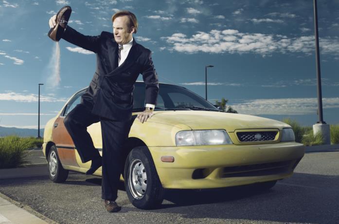 Bob Odenkirk in una foto promozionale di Better Call Saul