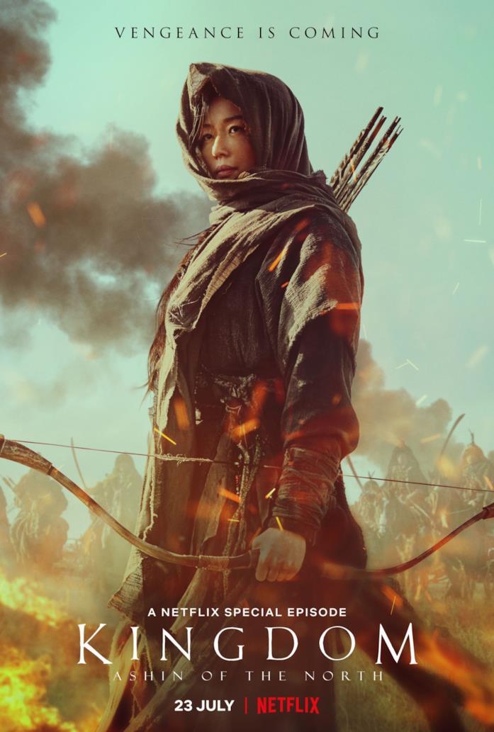 Gianna Jun nel poster dello speciale Kingdom: Ashin of the North