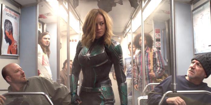 Brie Larson nel trailer di Captain Marvel