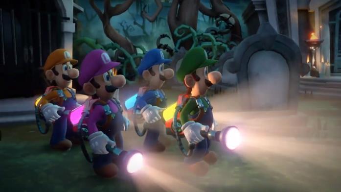 Luigi's Mansion Multiplayer