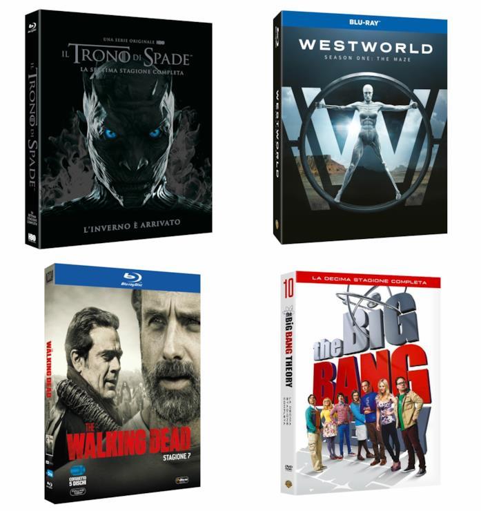 Le idee regalo targate Warner Bros. per gli amanti delle serie TV