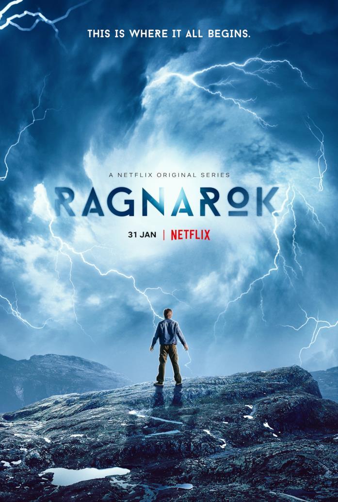 Il poster della serie TV Ragnarok