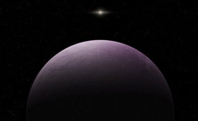 Un'illustrazione del pianeta Farout fornita dal Carnegie Institution for Science