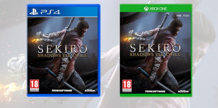 Le boxart su console di Sekiro: Shadows Die Twice