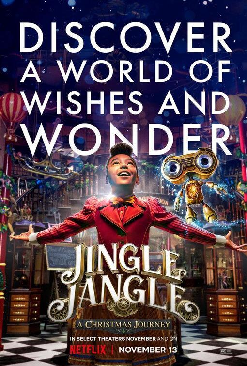 La bambina protagonista di Jingle Jangle: Un'avventura natalizia
