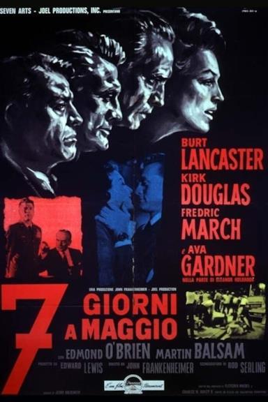 Poster Sette giorni a maggio