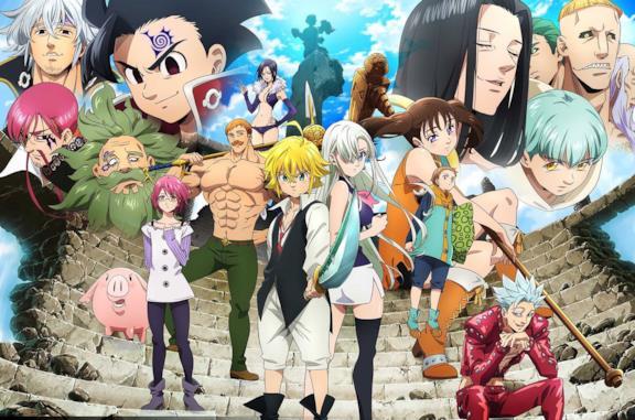 The Seven Deadly Sins personaggi