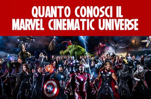Quanto conosci il Marvel Cinematic Universe?