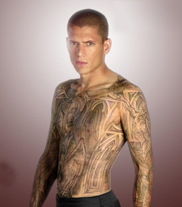 Tatuaggi di Michael Scofield