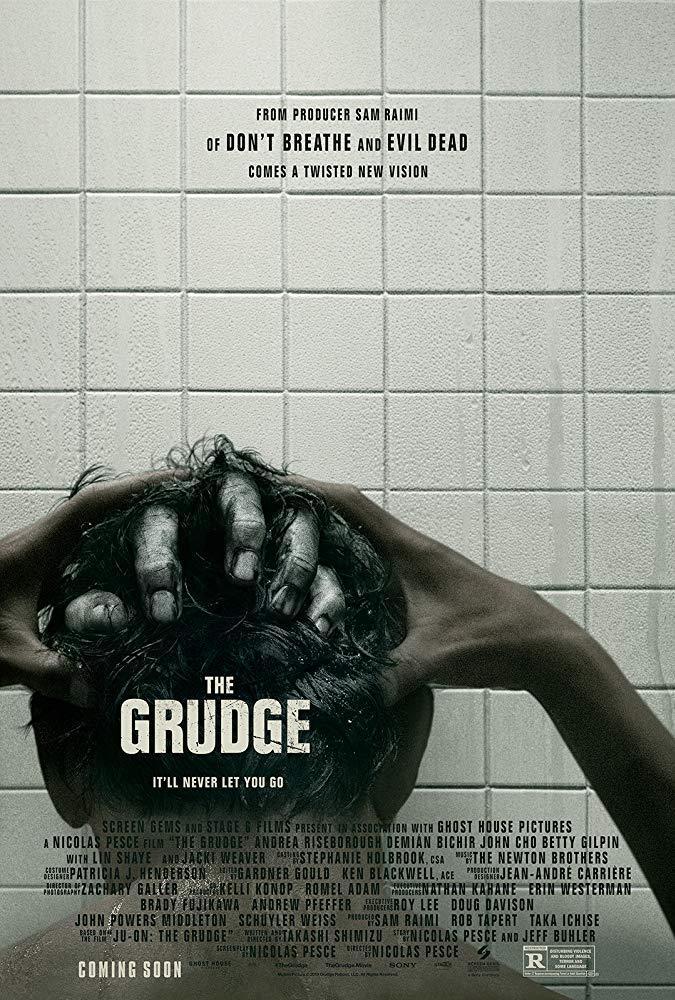 Il poster ufficiale del film The Grudge