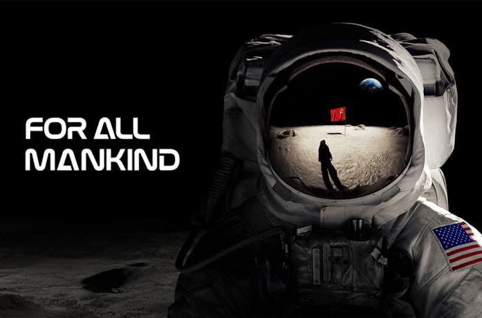 Il poster di For All Mankind di Apple TV+