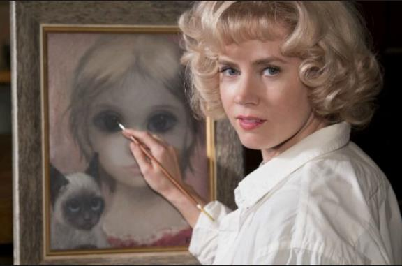 Una scena di Big Eyes con Amy Adams