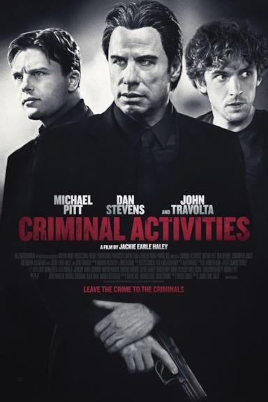 Poster Criminal Activities
