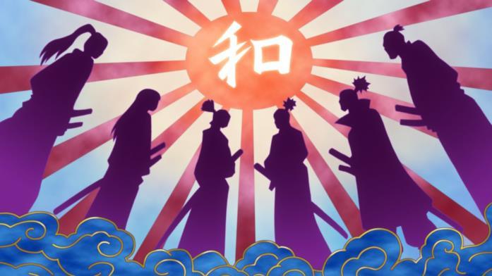 One Piece samurai del paese di Wano