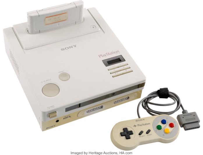 Il prototipo di Nintendo PlayStation