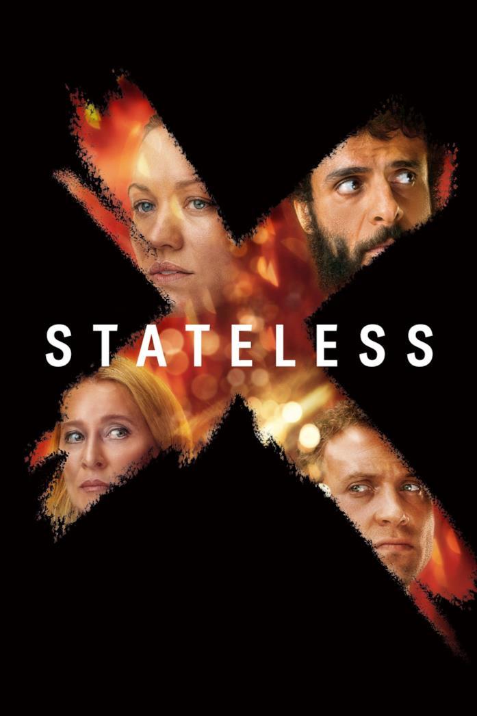 Il cast nel poster di Stateless