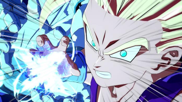 Onda energetica in Dragon Ball FighterZ