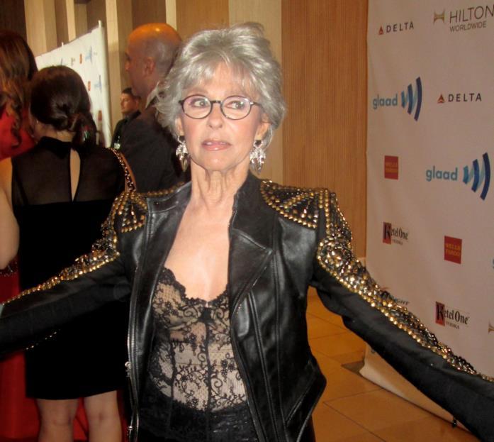 L'attrice Rita Moreno