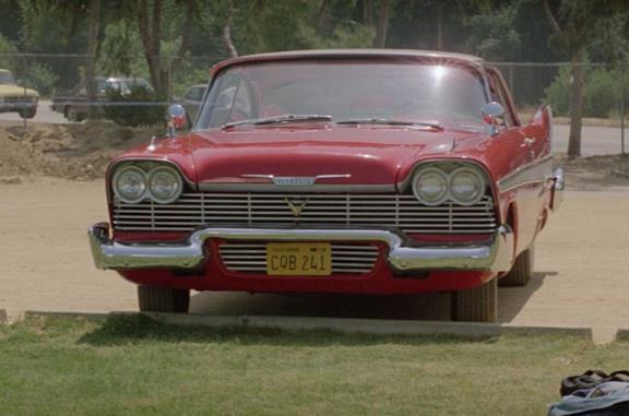 Christine, la macchina infernale nel film di Carpenter