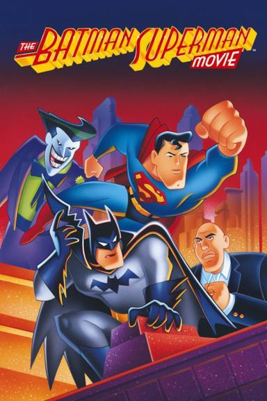 Poster Batman e Superman - I due supereroi