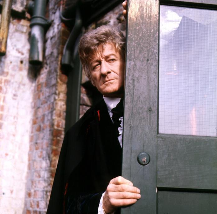 Jon Pertwee, il terzo interprete del Dottore