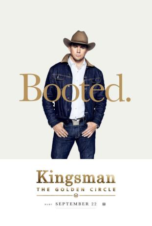 Agente Tequila (Channing Tatum) nel character poster di Kingsman 2