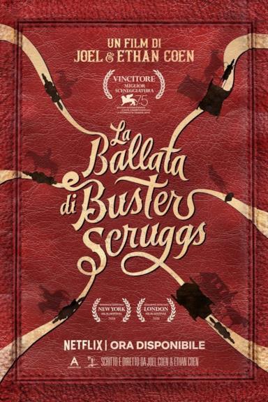 Poster La ballata di Buster Scruggs