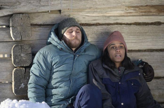 Nadja e David, i due protagonisti di Red Dot in una scena del film