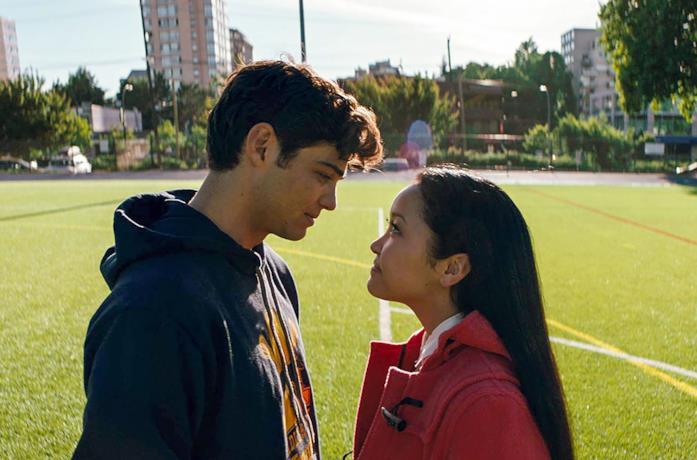 Peter e Lara Jean alla fine del primo film