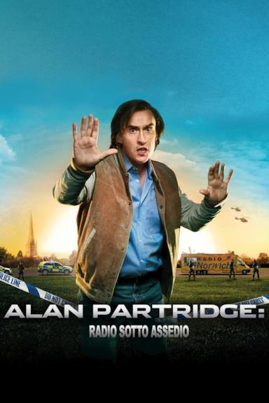 Poster Alan Partridge: Radio sotto assedio