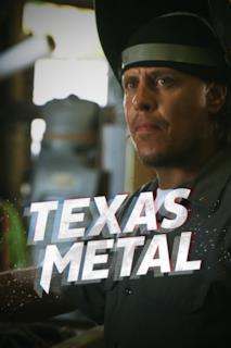 Poster Texas Metal