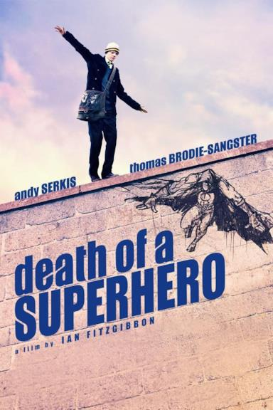 Poster Death of a Superhero