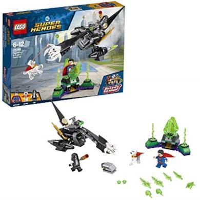 LEGO- Super Heroes L'Alleanza tra Superman e Krypto, Multicolore, 76096