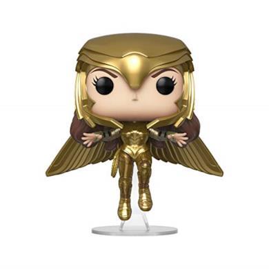 Funko- Pop Wonder Woman (Gold Flying Pose)