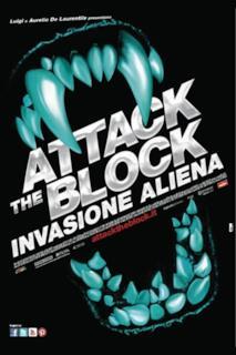 Poster Attack the Block - Invasione aliena