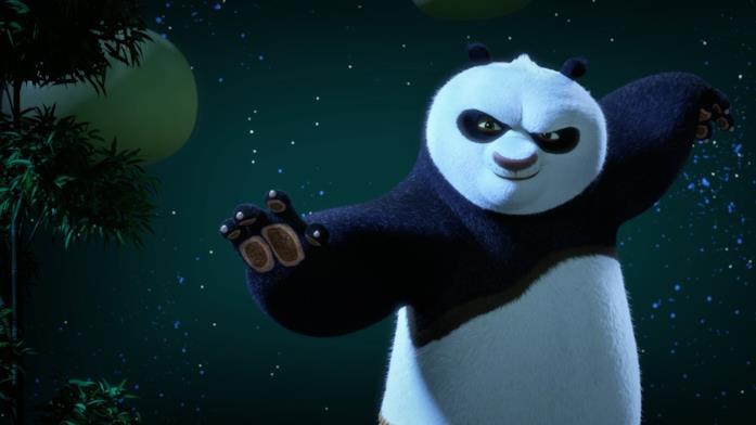 Kung Fu Panda - Le zampe del destino: Po Ping scena