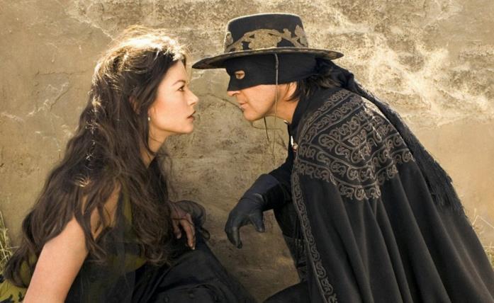 Una scena di The Legend of Zorro