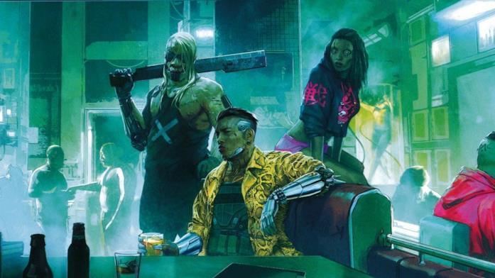 Tutte le gang di Cybeperunk 2077