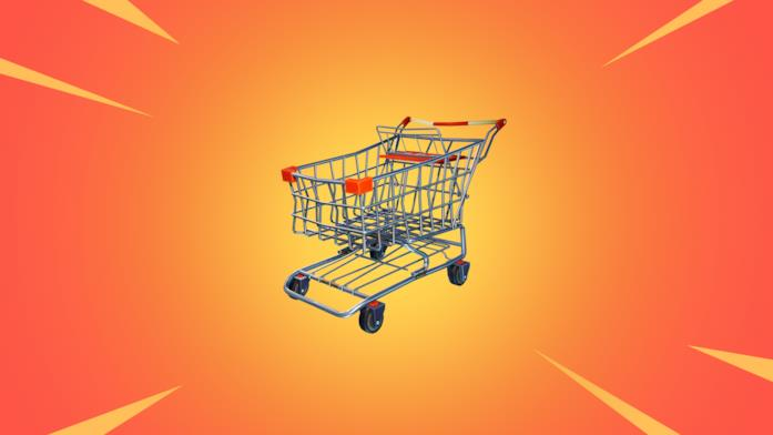 Il carrello per la spesa, la new entry di Fortnite