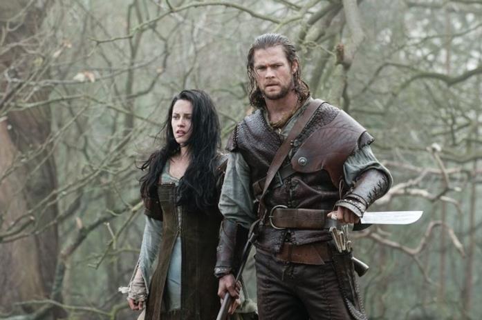 Una scena di Biancaneve e il cacciatore