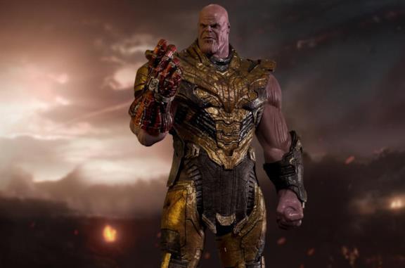 La nuova statua di Thanos di Iron Studios