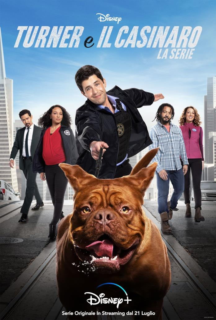Il poster promozionale di Turner e il casinaro - La serie